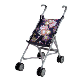 knorr® toys Puppenbuggy Sim - blue flowers