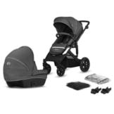 Kinderkraft Kinderwagen Prime Lite 2 in 1 Dark Grey