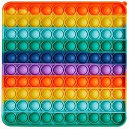 iCOOLIO pop it Fidget Toy Set, popit XXL Toys, Popet figetttoys, Poppet Antistress Spielzeug, poppit groß fitgetoys, poppitz riesen Spiel, popets Fitchet, fitschetoys, Push pop Bubble figet - 1