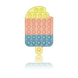 PIANETA Fidget Toy Pop it Push it, pop Bubble, endspannentes Anti Stress Spielzeug Sensorisches Spielzeug Autismus lindert Angstzustände. Für Kinder und Erwachsene (EIS) - 1