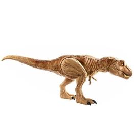 Jurassic World GJT60 - brüllender Kampfaction T-Rex, große Actionfigur - 1