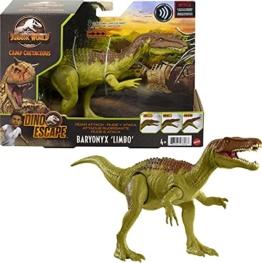 Jurassic World GWD12 - Brüllattacke-Dinosaurier-Actionfigur, ab 4 Jahren, Gemischt - 1