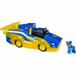 PAW Patrol Chases Mighty Pups Charged Up Deluxe Verwandlungs-Fahrzeug - 1