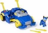 PAW Patrol Mighty Pups Super Paws - Chases verwandlungsfähiges Powered Up Fahrzeug mit Figur - 1