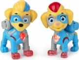 PAW Patrol Mighty Pups Super Paws, Mighty Twins Leuchtfiguren, 2er-Pack, für Kinder ab 3 Jahren - 1